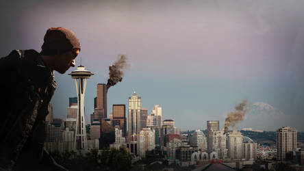 Infamous Second Son - Swing by the space needle. by Nolan989890