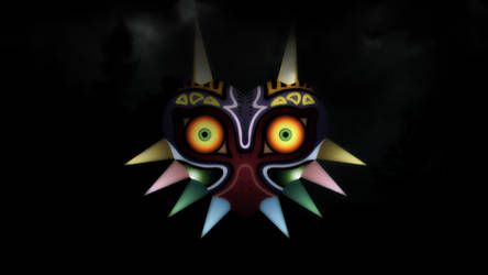 Majoras Mask - From out of the smoke by Nolan989890