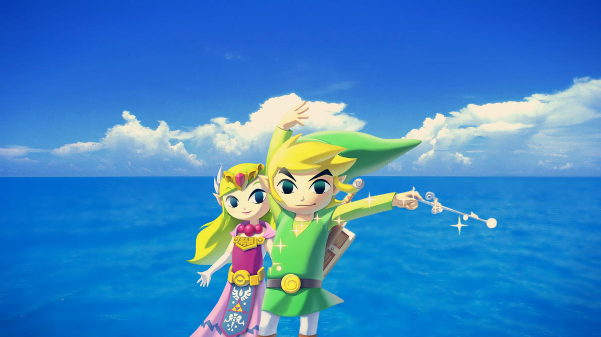 Wind Waker HD Link and Zelda Wallpaper by Nolan989890 ...