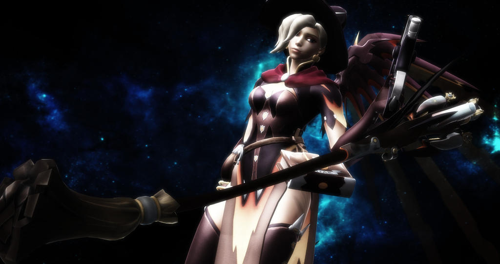 Overwatch Fan-Made Picture ~ Mercy |Halloween skin by PandaBois on ...