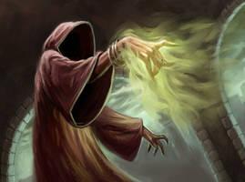 Dark Wizard by capprotti