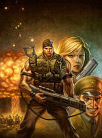 Armageddon Now Hardcover by capprotti