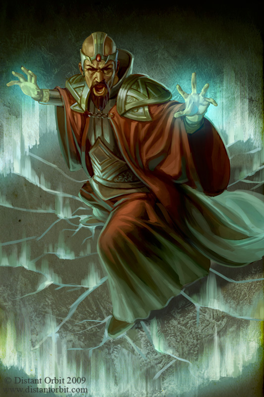 The Magus by capprotti