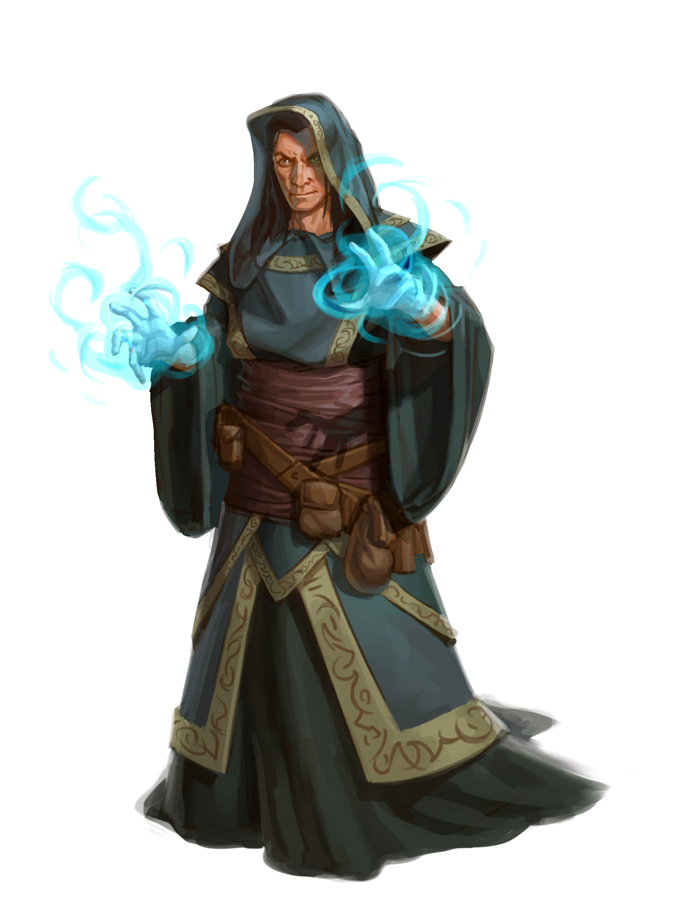 Ominous Wizard by capprotti