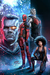 Deadpool 2 Poster - Fandango VIP Exclusive by capprotti