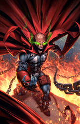 Spawn - Fan Art by capprotti