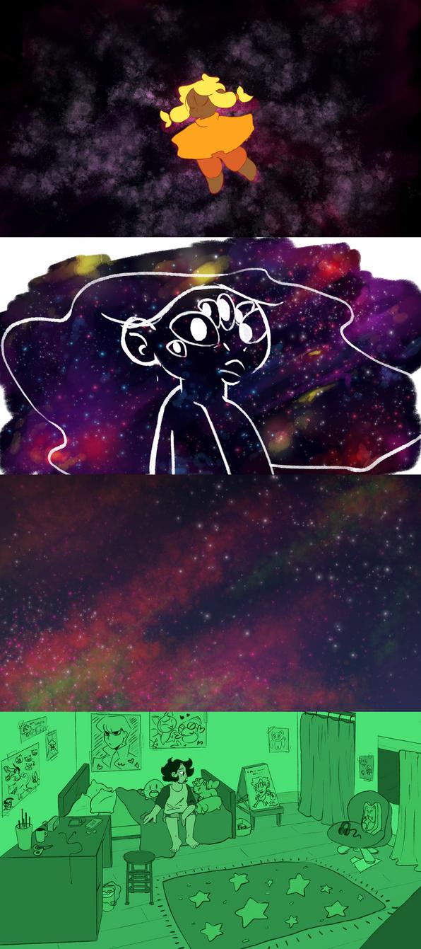 Animation Stills! by ghostlyCavalier