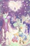 Kingdom Hearts + Speedpaint! by ghostlyCavalier