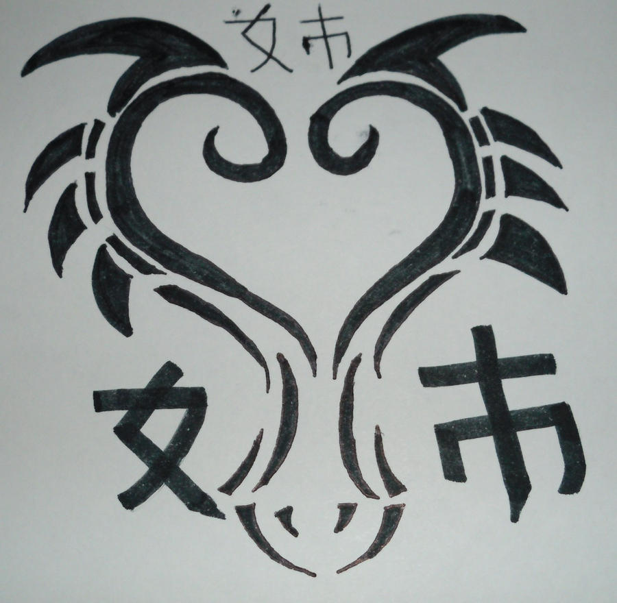 Tribales De Escorpiones Tribal Dragon Head Tattoo By