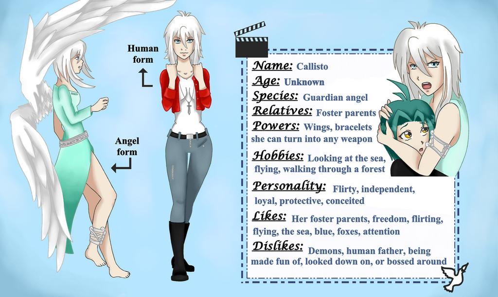 Callisto- character sheet by LadyGab