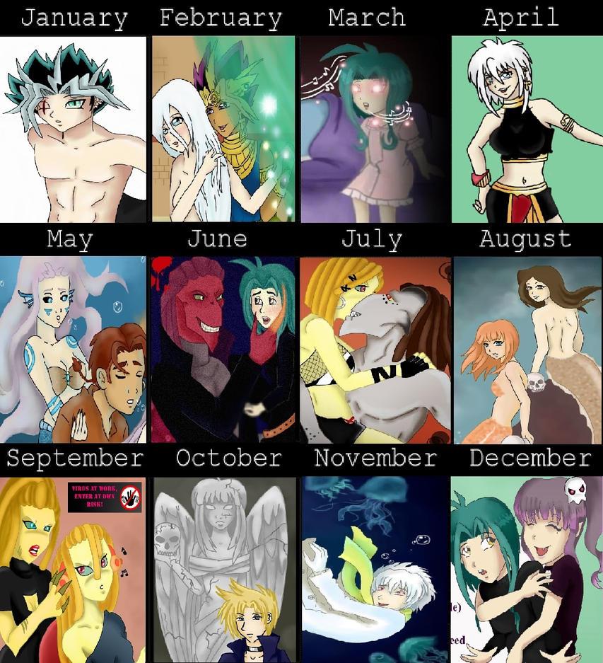 Art summary 2014 by LadyGab