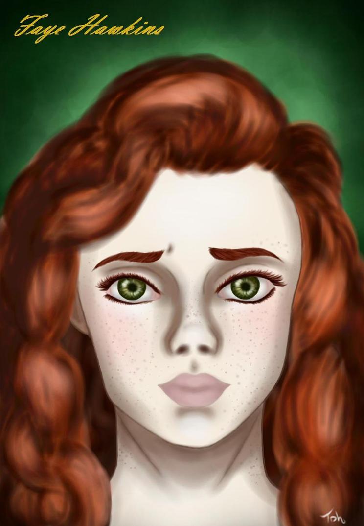 Faye Hawkins by LadyGab