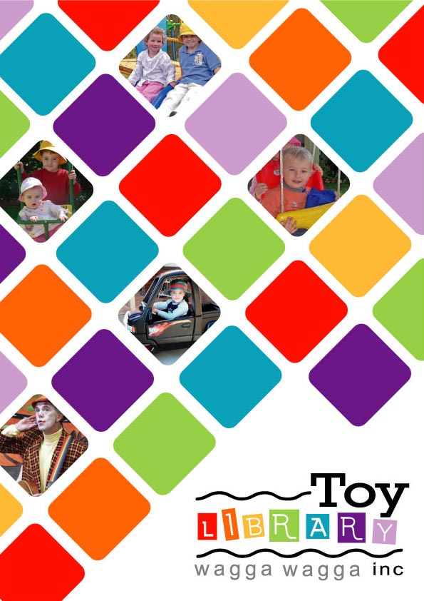 Toy libary brochure cover by nickenglishdesign on deviantart for Brochure cover designs
