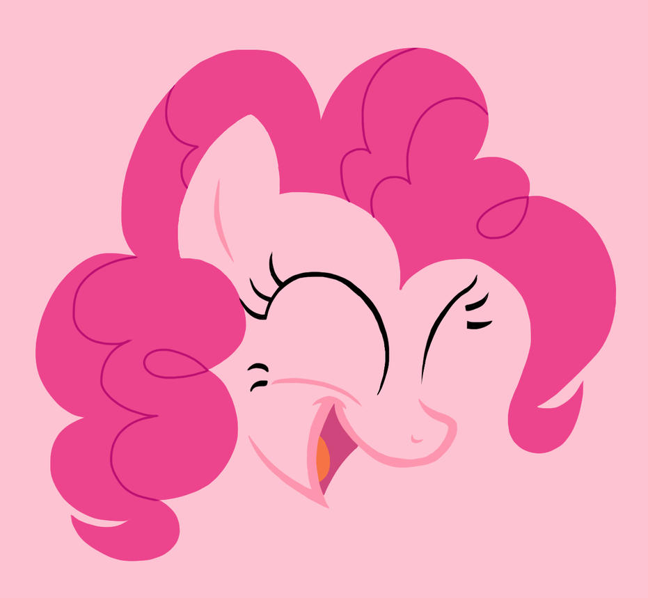 Pinkie Pie - Minimal by M00nlightMagic
