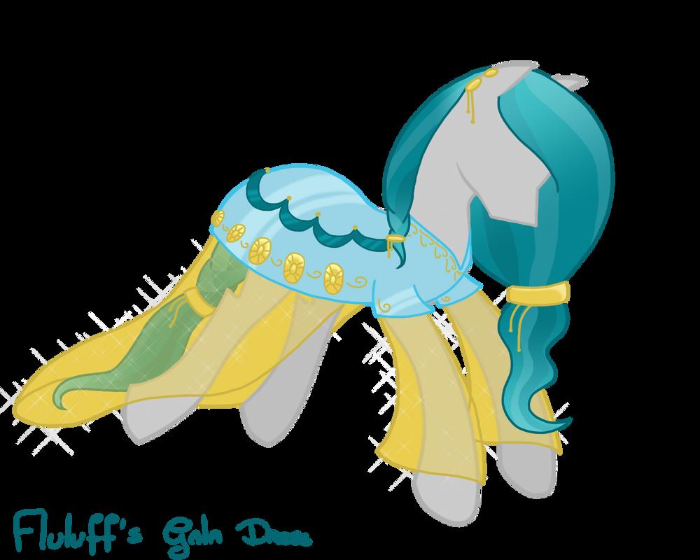 [PC] Fluluff's Gala Dress by M00nlightMagic