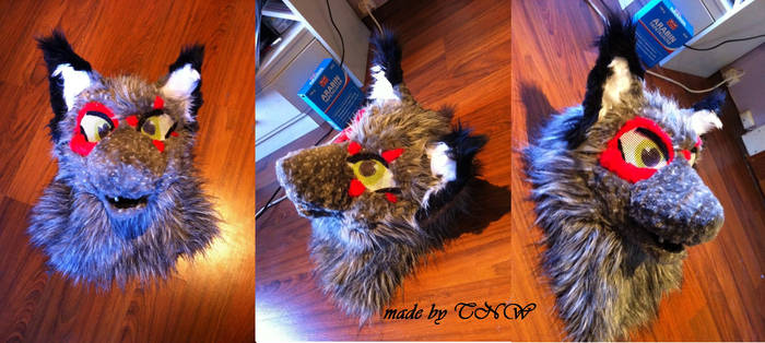 Wolf mask comission WIP