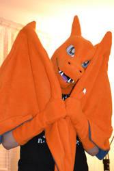 Charizard Costume WIP