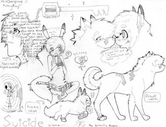 lookie its an artdump :o by crazyemo95