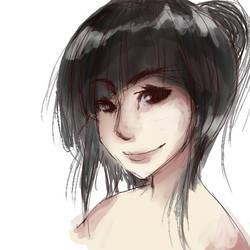 Kitsune Painting Sloppy by crazyemo95