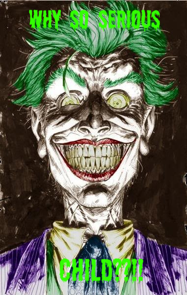 scary pictures of the joker