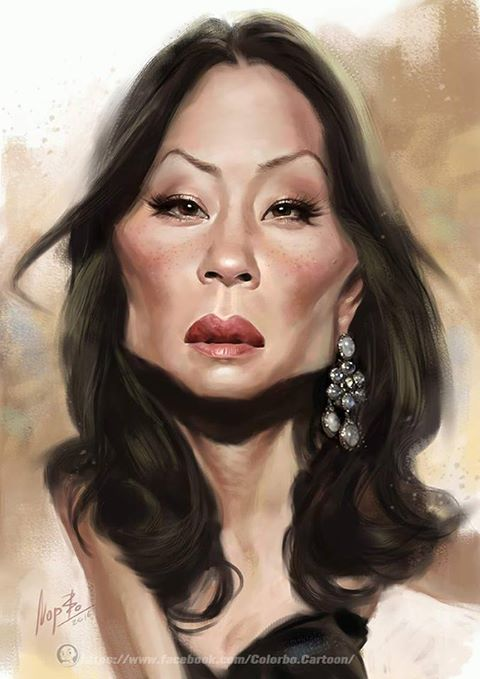 Lucy Liu by nopperabosri