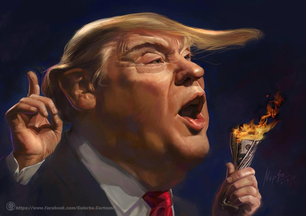 Donald John Trump by nopperabosri