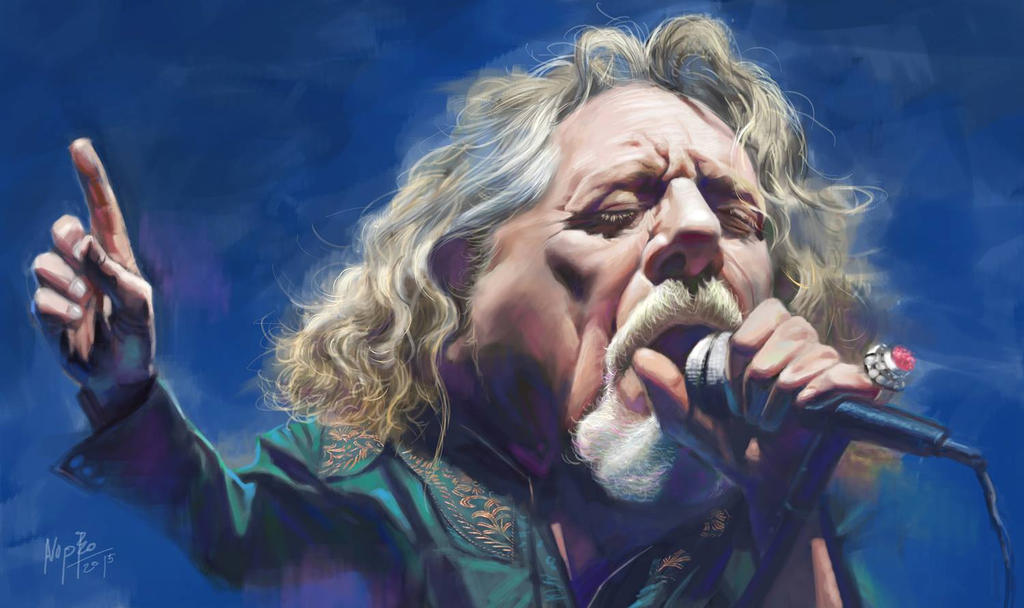 Robert Plant by nopperabosri