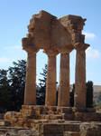 Dioscuri's Temple stock