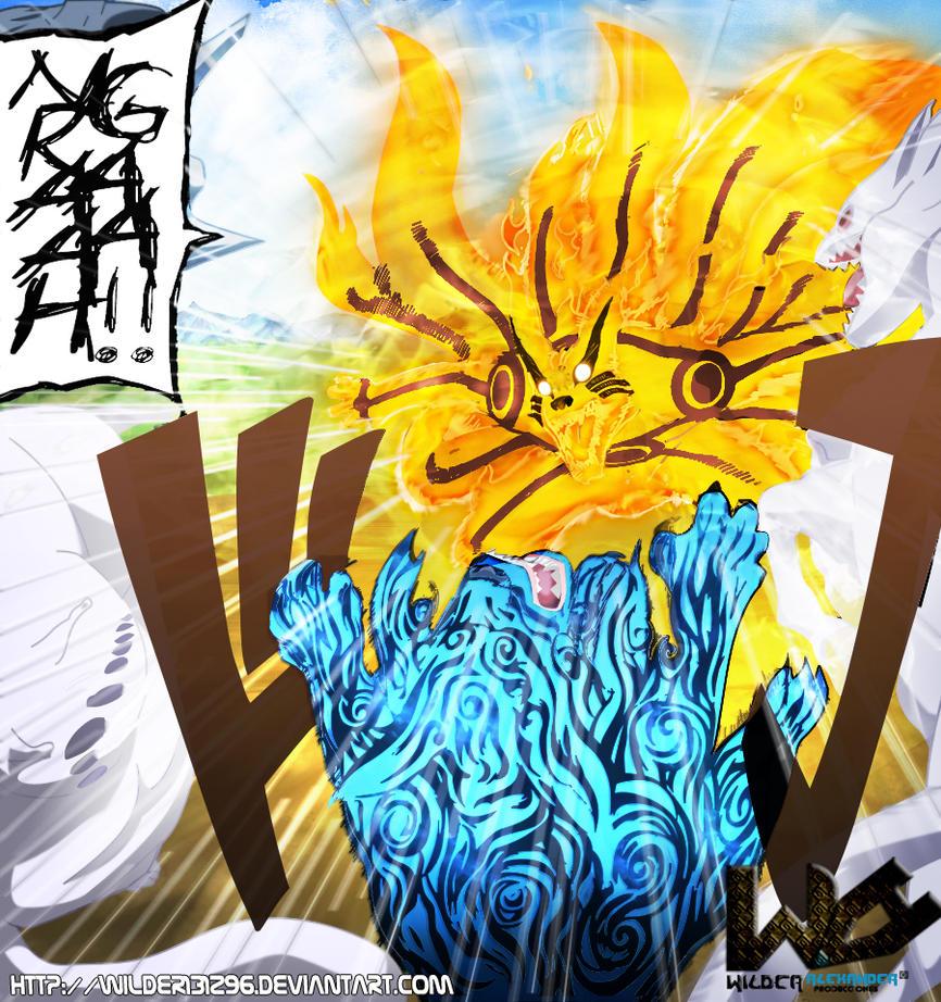 Yondaime Hokage no Chikara ! Manga_naruto_shippuden_571_kurama_vs__bijuu_by_wilder131296-d5ebhrg