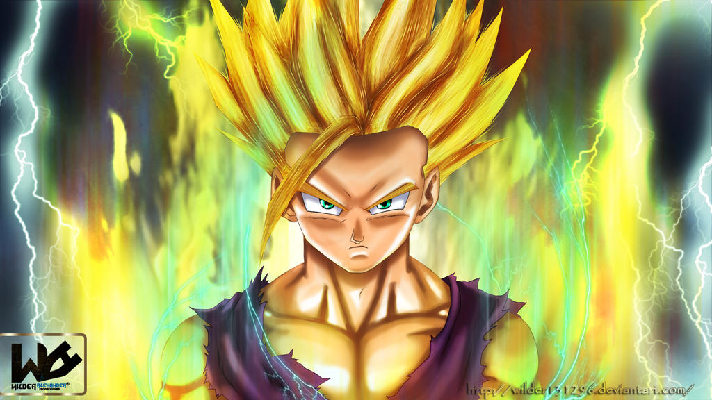 Dragon Ball super saiyan by Wilder131296 on DeviantArt
