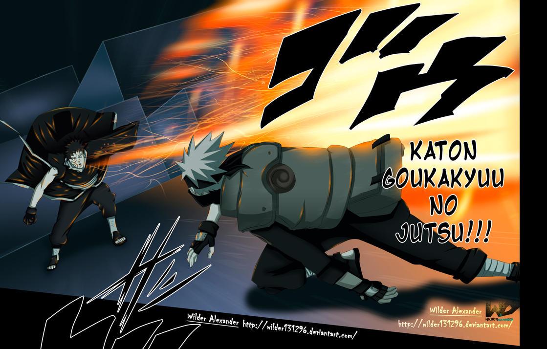 Naruto Vs Commission Vs Goku By Dannex On DeviantartObito Vs Kakashi Manga