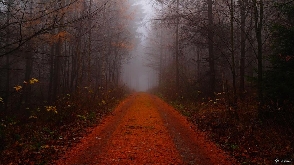 Nebel im Herbst by Ikarusthefirst