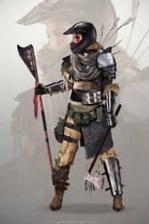 Raider Chieftain Solo by SivarkArt