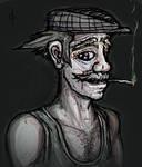 Sketchy Portrait: Old Man