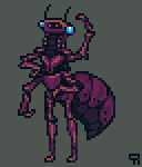 Pixel Dailies 25/7/14 Insectoid