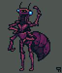 Pixel Dailies 25/7/14 Insectoid by ForsakenGeti