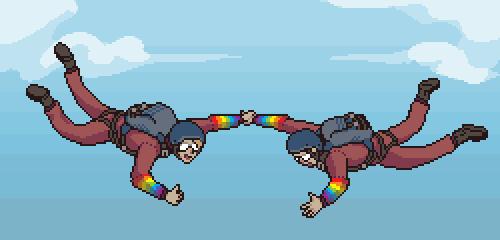 Pixel Dailies - Falling by 1bardesign