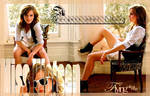 Emma Watson blend.