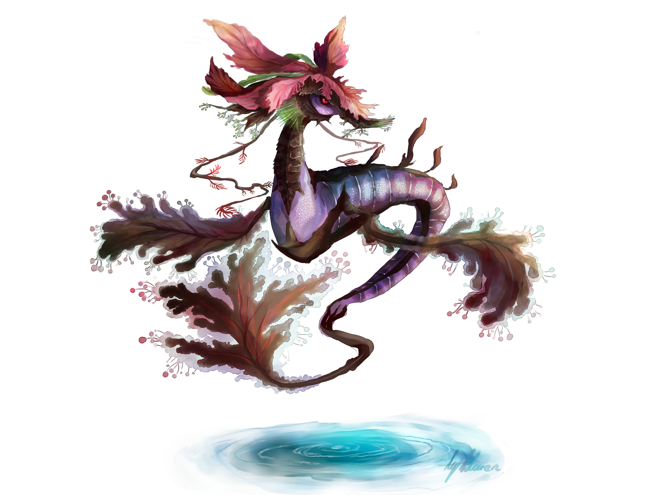 Dragalge for the 70 Kalos Pokemon Project by Llaren on ...