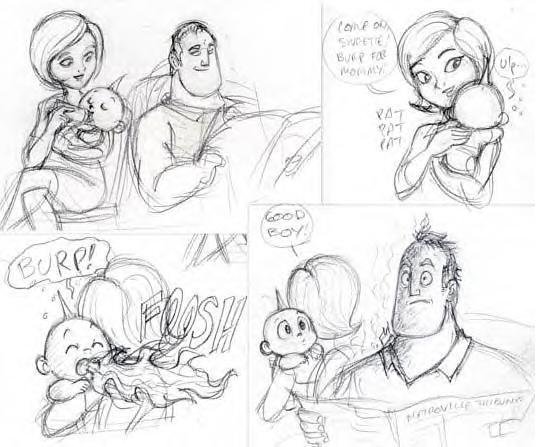 Incredible Comic Strip-Nanashi by Incredibles-club