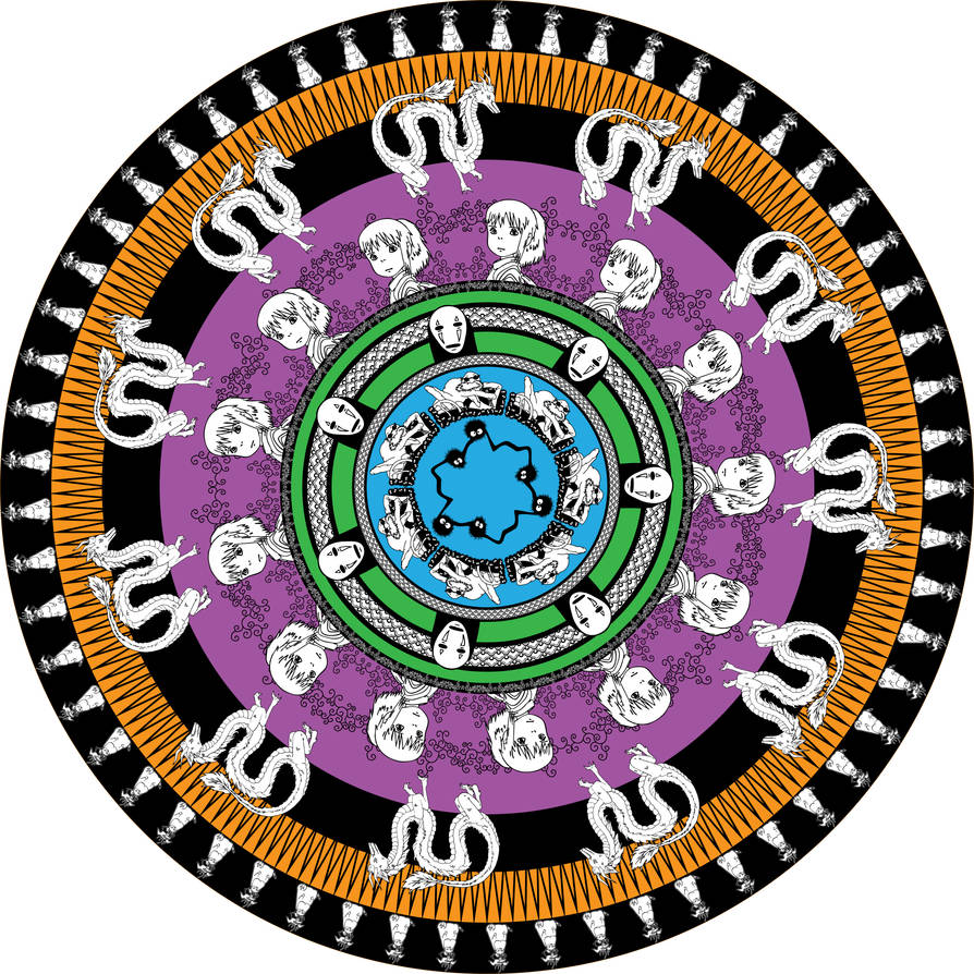 Spirited Away Mandala