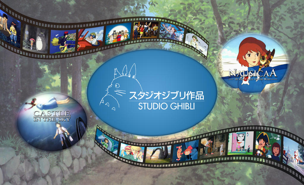Studio Ghibli by EmmaL27