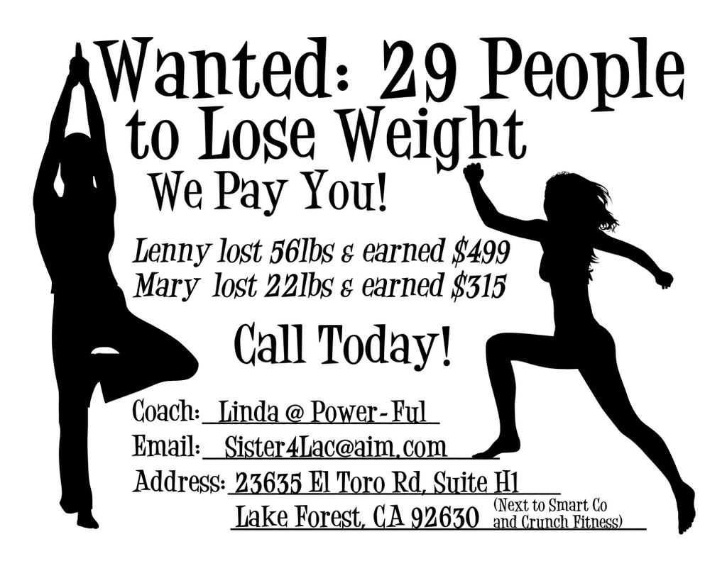 lose weight flyers