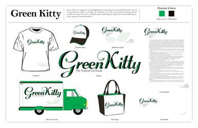 Green Kitty Presentation Board
