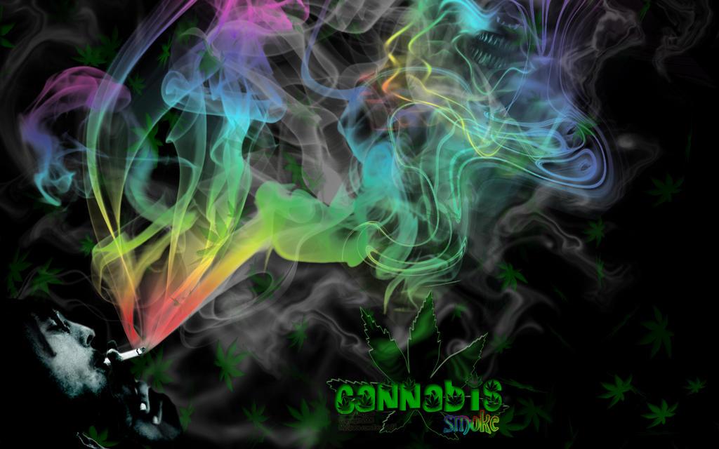 Earxagangnad Cannabis Wallpaper