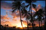 My First Hawaii Sunset