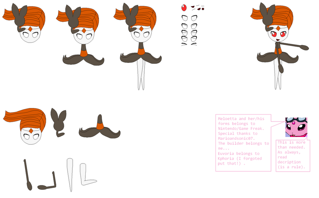 Meloetta pirouette form builder by tailteheeveelution on for Farcical other forms