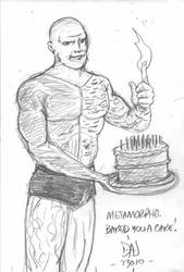 Metamorpho's Birthday Cake