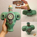 Bioshock Infinite: Charge Vigor Papercraft