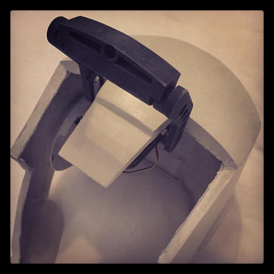 Still WIP: Iron Man Helmet by JouzuMania